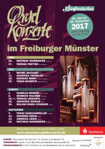 Quelle:  Internationale Orgelkonzerte im Freiburger Münster